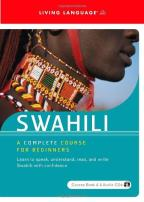 World Languages Series - Complete Swahili - A Complete Course for Beginners