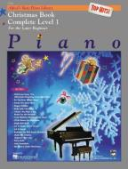 Alfred's Basic Piano Library - Christmas Book Complete Level 1 - Top Hits!
