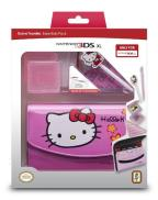 3DSXL 3DS Hello Kitty Travel Kit Pink