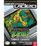 Game Boy Advance Video: Teenage Mutant Ninja Turtles, Vol. 1