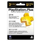 Z Playstation Plus 3-Month Card
