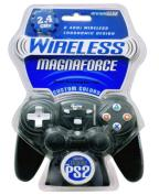 Dreamgear Magna Force RF Wireless Controller For PS2 Black
