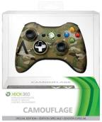 Xbox360 Camouflage Wireless Controller
