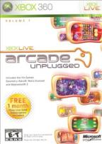 Xbox Live Arcade Unplugged, Vol. 1