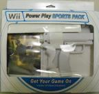 Wii Power Play w/Ghost Squad & Gun