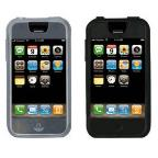 Iphone Skin Tight 2 Pack:Clear/Black