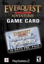 Everquest Online Adventures Game Card