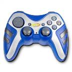 PS2 Nerf Wireless Controller:Blue