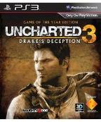 Uncharted 3 Drake's Deception: Game Of The Year