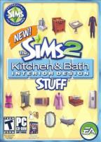 Sims 2: Kitchen & Bath Interior Design Stuff