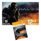 XB360 Live-12+1 Mo.Time Card-Halo 3