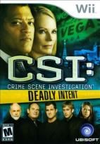 CSI: Crime Scene Investigation -- Deadly Intent
