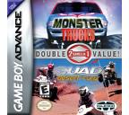 2 Games In 1 Double Value: Monster Trucks & Quad Desert Fury