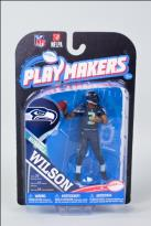 MCF-NFL Playmakers Series 4 Russell Wilson Seahawks