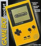 Game Boy Pocket-Yellow