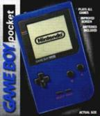 Game Boy Pocket-Blue
