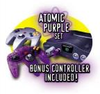 Nintendo 64 System Atomic Purple Bundle