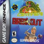 Centipede/Breakout/Warlords