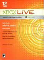 XBox 360 Live 12 Month Kit