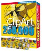 250,000 Clip Art With 3,000 Designer