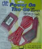 Power on the Go Car Adapter - Fuchsia