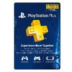 PS Plus 3 Month Live Subscription Card