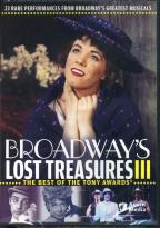 Broadway's Lost Treasures III