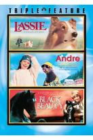 Lassie/ Andre/ Black Beauty - Triple Feature
