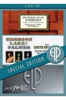 Emerson, Lake & Palmer: Pictures at an Exhibition/The Birth of a Band/Live at Montreux 1997