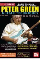 Lick Library: Learn to Play... Peter Green Guitar Techniques
