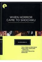 When Horror Came to Shochiku