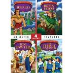 Hercules/Robin Hood/Tom Sawyer/The Three Musketeers