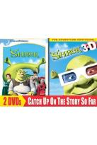 Shrek/Shrek 3D Swamp Party 2-Pack