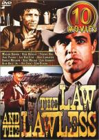 Law and the Lawless, The - 10 Movie Set