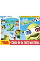 Shrek 2/Shrek 3D Party in the Swamp 2-Pack