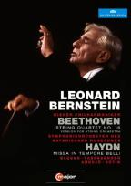 Leonard Bernstein: Beethoven - String Quartet No. 16/Haydn - Missa in Tempore Belli