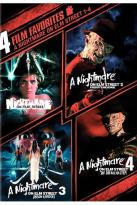 4 Film Favorites - A Nightmare on Elm Street 1-4