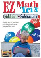EZ Math Trix - Addition & Subtraction