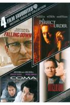 Michael Douglas Collection: 4 Film Favorites