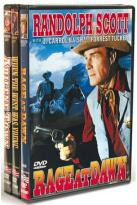 Randolph Scott: Rage at Dawn/When the West Was Young/Abilene Town