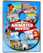 8 Animated Movies!