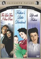 Elizabeth Taylor - Hollywood Legends - Life With Father/Father's Little Dividend/The Last Time I Saw Paris