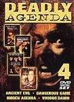 Deadly Agenda - Ancient Evil / Dangerous Game / Hidden Agenda / Voodoo Dawn