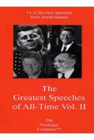Greatest Speeches of All Time - Vol. 2