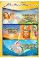 Greatest Heroes and Legends of the Bible Triple Feature