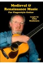 Medieval and Renaissance Music for Fingerstyle Guitar