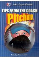 Tips from the Coach: Pitching