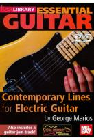 Lick Library: Essential Guitar - Contemporary Lines for Electric Guitar by George Marios