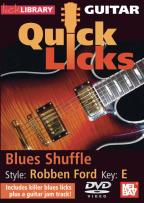 Guitar Quick Licks: Robben Ford