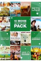 10 Movie Adventure Pack, Vol. 1